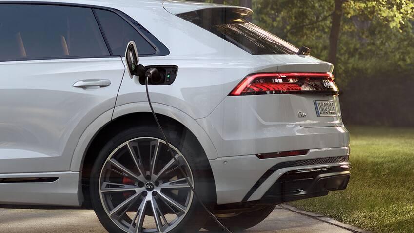 Recharge à domicile Audi Q8 TFSI e