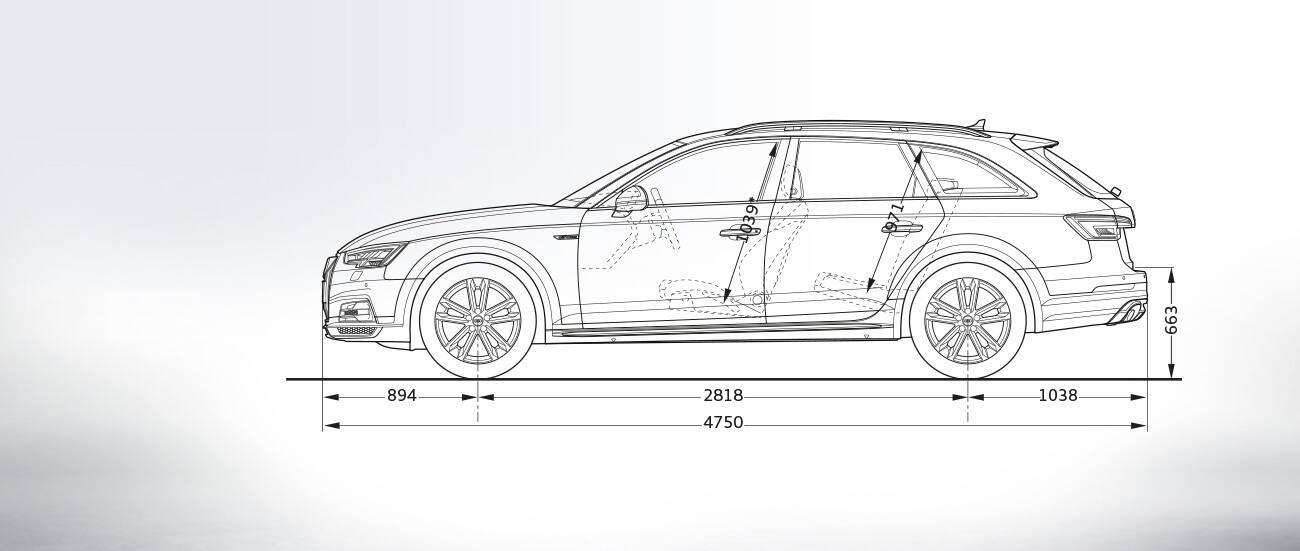 Vue De Profil Gt A4 Allroad Quattro Gt A4 Gt Audi France