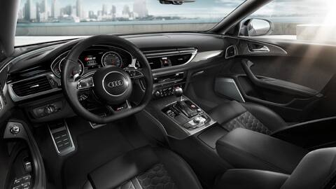 Rs 6 avant audi france for Audi a4 break interieur