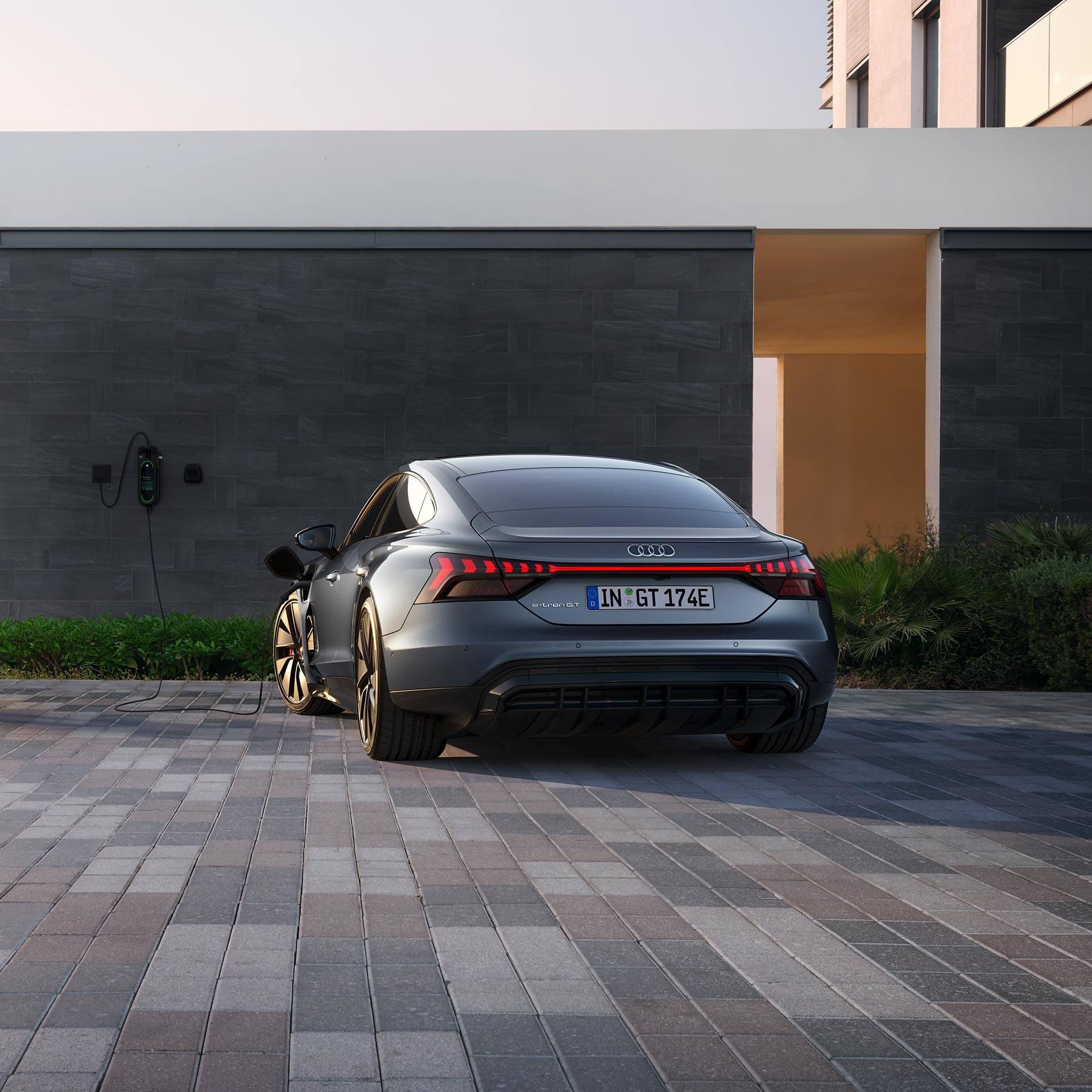 Audi e-tron GT chez vous