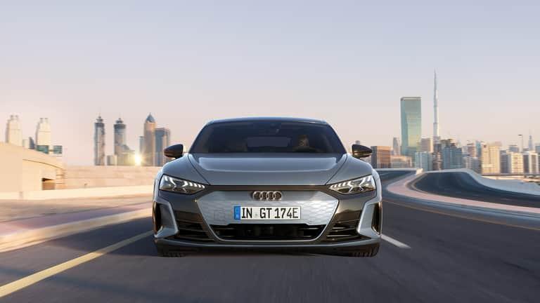 Audi e-tron GT vue avant