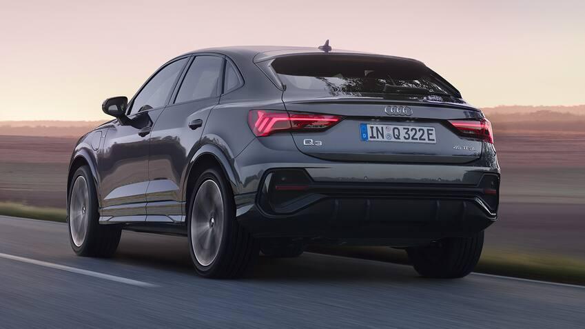 Audi Q3 Sportback TFSI e rear