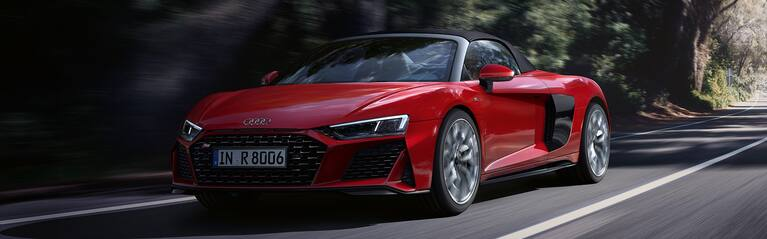 The new Audi R8 Spyder V10 quattro