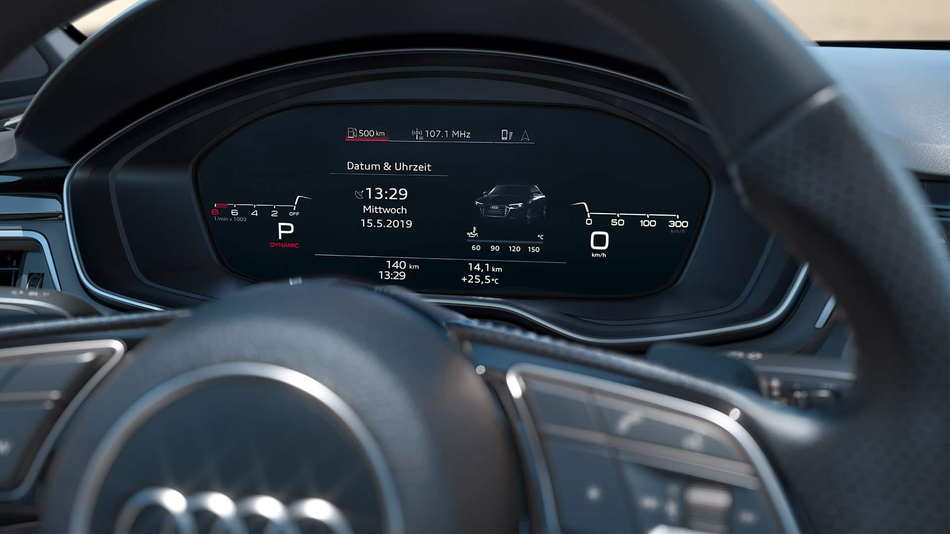 Audi virtual cockpit Audi S4 Berline