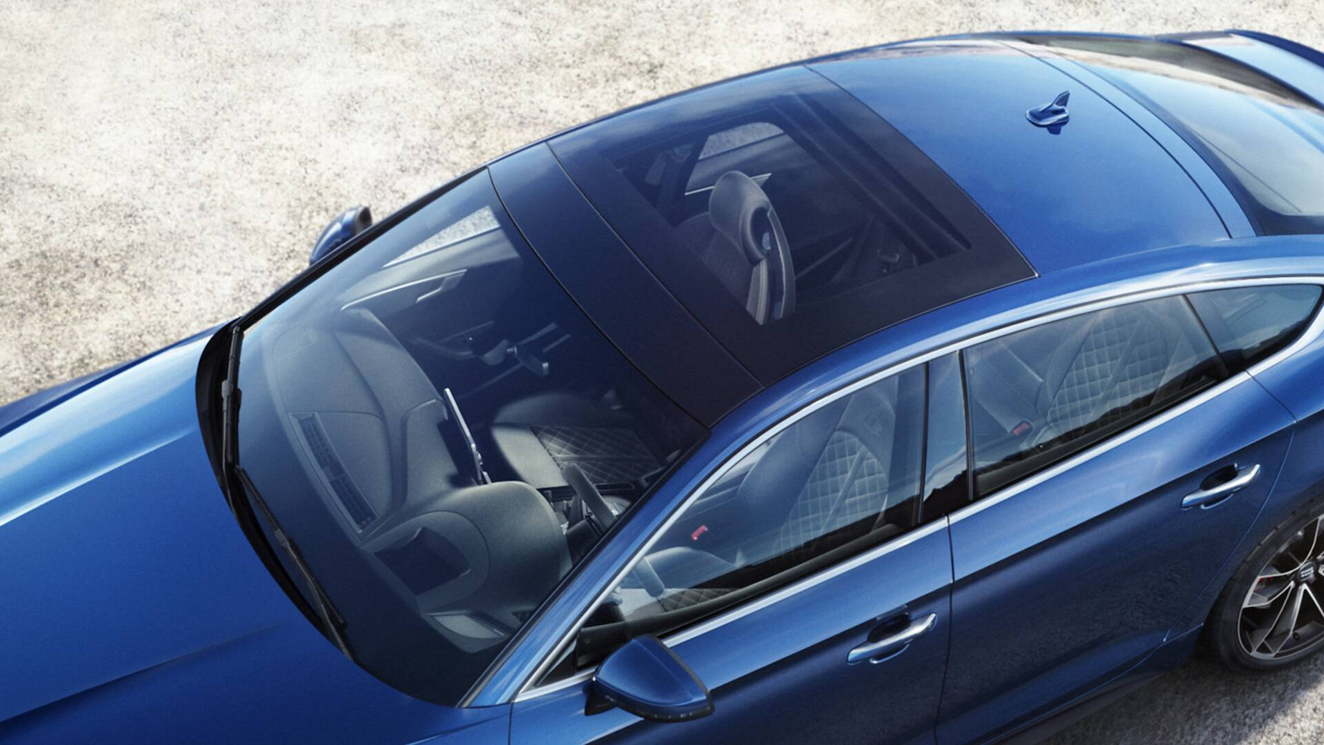 panoramic glass roof Audi S5 Sportback
