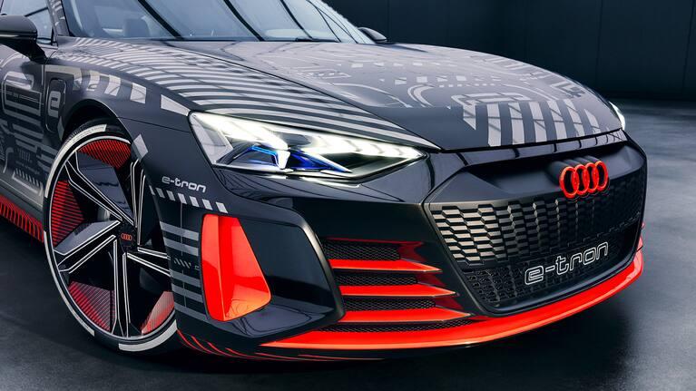 phares Matrix LED Audi e-tron GT concept