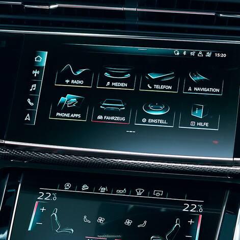 MMI system Audi SQ8